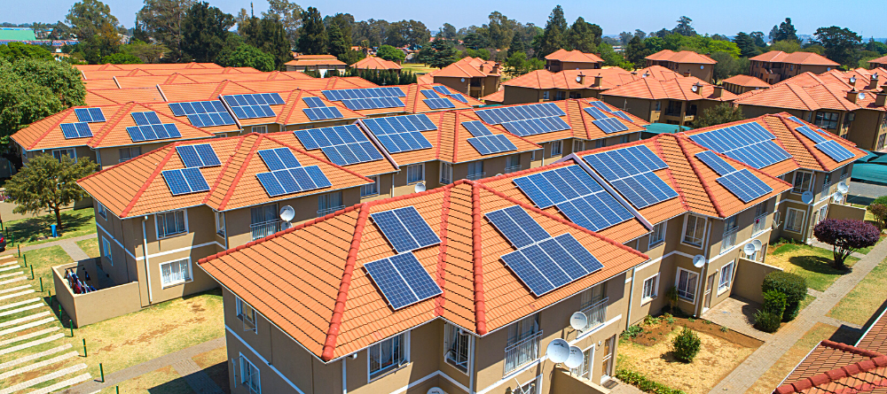 solar on complex roof